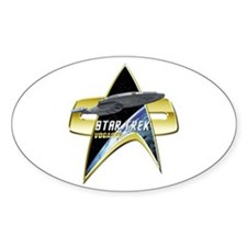 StarTrek Vogager Com badge Decal