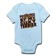 Protected By My Silky Terrier Body Suit