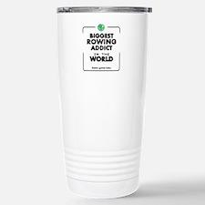 Biggest Rowing Addict i Stainless Steel Travel Mug
