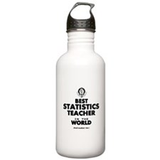 Best Statistics Teache Sports Water Bottle