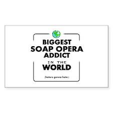 Biggest Soap Opera Addict Decal