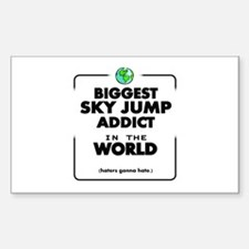 The Best in the World Sky Jump Addict Decal
