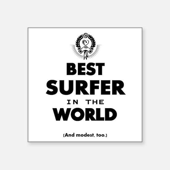 The Best in the World – Surfer Sticker