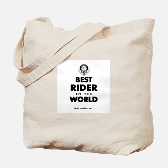 The Best in the World – Rider Tote Bag