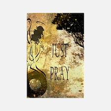 Praying Angel Rectangle Magnet