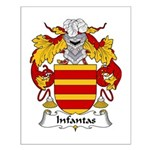 Infantas Family Crest Small Poster