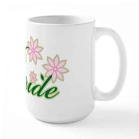 Tropical Bride Large Mug