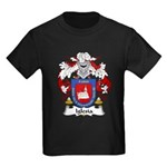 Iglesia Family Crest Kids Dark T-Shirt
