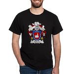 Iglesia Family Crest Dark T-Shirt