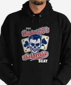Rockabilly Skull Hoody