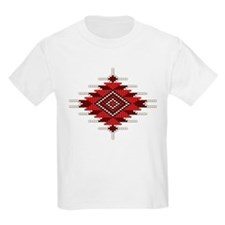 Native Red Seed Bead Design T-Shirt