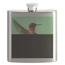 Ruby-Throated Hummingbird Flask