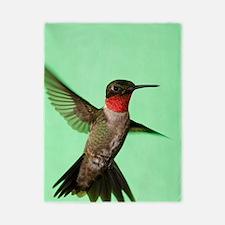 Ruby-Throated Hummingbird Twin Duvet