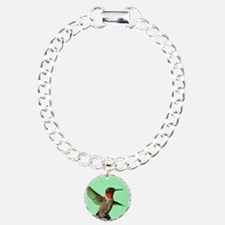 Ruby-Throated Hummingbir Bracelet