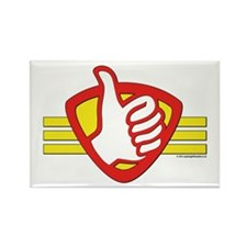 Superhero Logo Rectangle Magnet Magnets