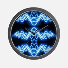 Soundwave deejay Techno music Wall Clock