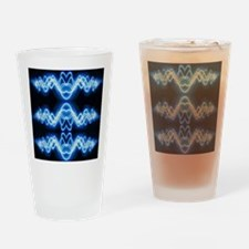 Soundwave deejay Techno music Drinking Glass