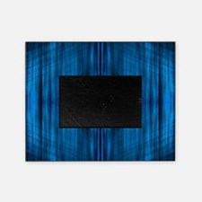 modern blue laser rays Picture Frame