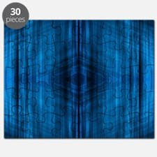 modern blue laser rays Puzzle