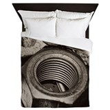 Nuts and bolts Luxe Full/Queen Duvet Cover