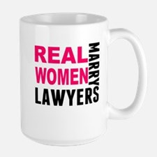 Real Women Marry Lawyers Mugs