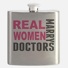 Real Women Marry Doctors Flask