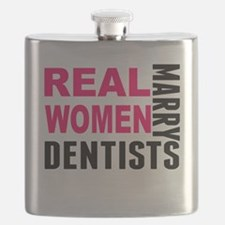 Real Women Marry Dentists Flask