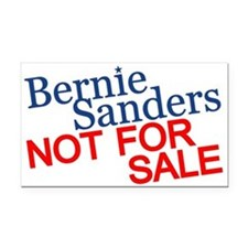 Bernie Not For Sale Rectangle Car Magnet
