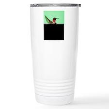 Ruby-Throated Hummingbi Travel Mug
