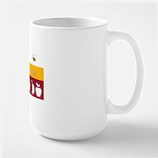 Shana Tova Holiday Design Large Mug