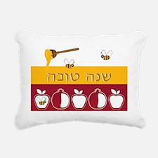 Shana Tova Holiday Desig Rectangular Canvas Pillow