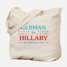 German for Hillary Tote Bag