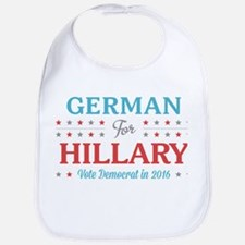 German for Hillary Bib