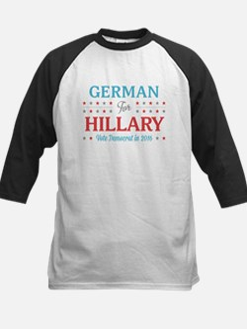 German for Hillary Baseball Jersey