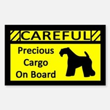 Precious Cargo Kerry Blue Terrier Sticker (Rect)