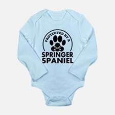Protected By A Springer Spaniel Body Suit