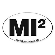 Cute Mackinac island euro Decal