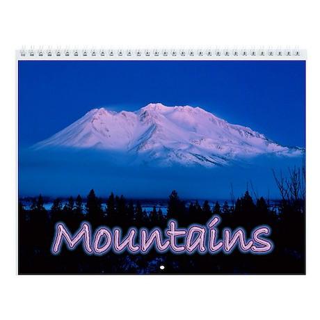 Mountains Wall Calendar