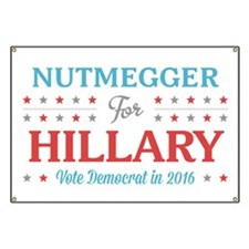 Nutmegger for Hillary Banner