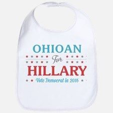 Ohioan for Hillary Bib