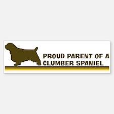 Clumber Spaniel (proud parent Bumper Bumper Bumper Sticker