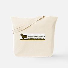 Norfolk Terrier (proud parent Tote Bag