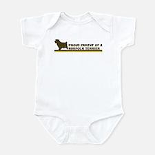 Norfolk Terrier (proud parent Infant Bodysuit