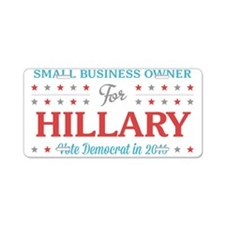 Small Business Owner for Hillary Aluminum License