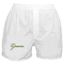 Tropical Groom Boxer Shorts