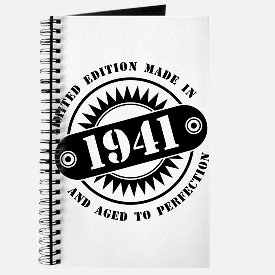 LIMITED EDITION MADE IN 1941 Journal