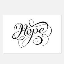 Hope (looping) Postcards (package Of 8)