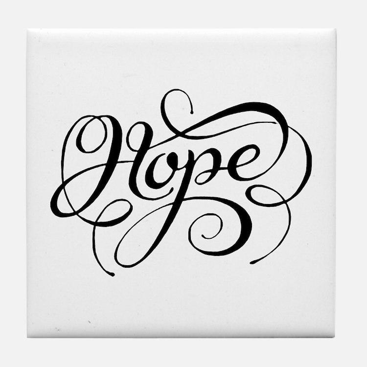 Hope (looping) Tile Coaster