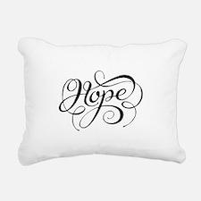 Hope (Looping) Rectangular Canvas Pillow