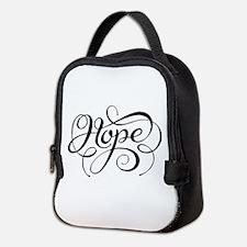 Hope (looping) Neoprene Lunch Bag
